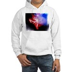 Dark Fractal Hooded Sweatshirt