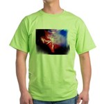 Dark Fractal Green T-Shirt