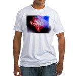 Dark Fractal Fitted T-Shirt
