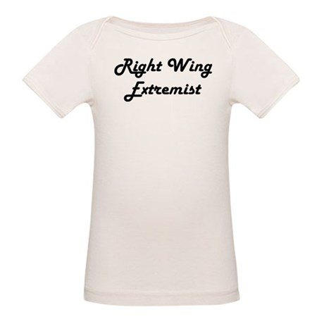 &quot;Right Wing&quot; Organic Baby T-Shirt