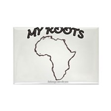 Cute Africa Rectangle Magnet