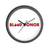 Blood Donor Wall Clock