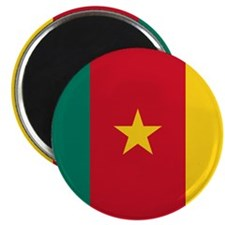"Flag of Cameroon 2.25"" Magnet (100 pack)"