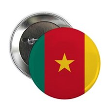 "Flag of Cameroon 2.25"" Button (100 pack)"