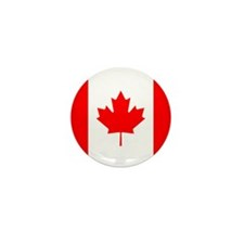 Flag of Canada Mini Button (10 pack)