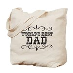 World's Best Dad Tote Bag