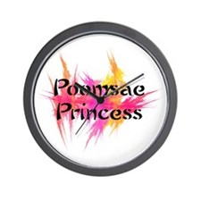 Taekwondo Poomsae Princess Wall Clock