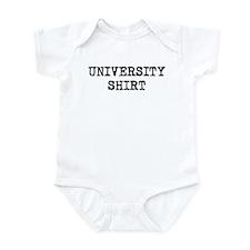 University Shirt Infant Bodysuit