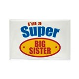 Super Big Sister Rectangle Magnet (10 pack)
