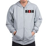 Cute Political politics government Zip Hoodie