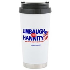 Limbaugh/Hannity 2012 Ceramic Travel Mug