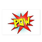 Pow, Superhero! Postcards (Package of 8)