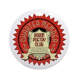 Vogon Poetry Club Ornament (Round)