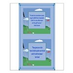 Golf Quotes Aaron Small Poster