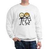 Bride & Groom Sweatshirt
