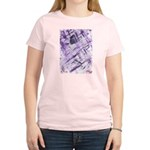 Purple Antagonism Women's Light T-Shirt