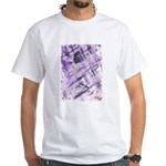 Purple Antagonism White T-Shirt