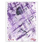 Purple Antagonism Small Poster