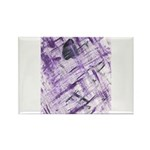 Purple Antagonism Rectangle Magnet (100 pack)
