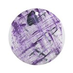 Purple Antagonism Ornament (Round)