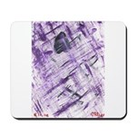 Purple Antagonism Mousepad