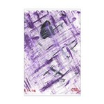 Purple Antagonism Mini Poster Print