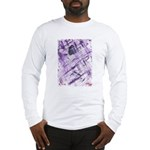 Purple Antagonism Long Sleeve T-Shirt