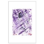 Purple Antagonism Large Poster
