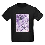 Purple Antagonism Kids Dark T-Shirt