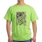 Purple Antagonism Green T-Shirt