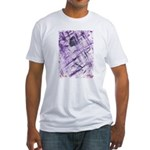 Purple Antagonism Fitted T-Shirt