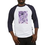 Purple Antagonism Baseball Jersey