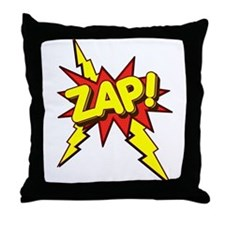 Zap! Throw Pillow