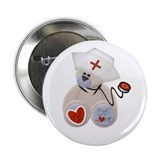 "Nurse Bear 2.25"" Button (10 pack)"