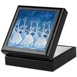 Dance of the Snowflakes Ballet Keepsake Box