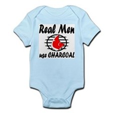 Charcoal Infant Bodysuit