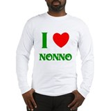 I Love Nonno Long Sleeve T-Shirt