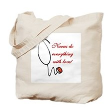 Nurse's Love Tote Bag