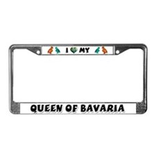 Queen of Bavaria Conure License Plate Frame