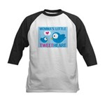 MOMMA'S LITTLE tweet HEART Kids Baseball Jersey
