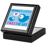 MOMMA'S LITTLE tweet HEART Keepsake Box
