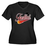 Trollball! Women's Plus Size V-Neck Dark T-Shirt