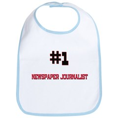 Number 1 NEWSPAPER JOURNALIST Bib