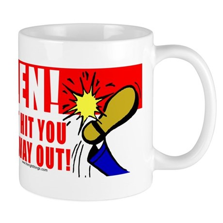 Boot In Specter's Ass Mug