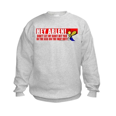 Boot In Specter's Ass Kids Sweatshirt