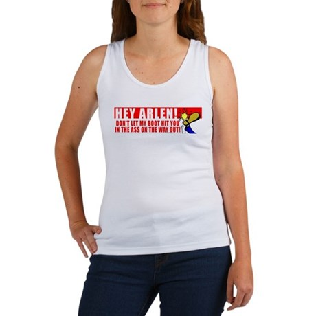 Boot In Specter's Ass Women's Tank Top