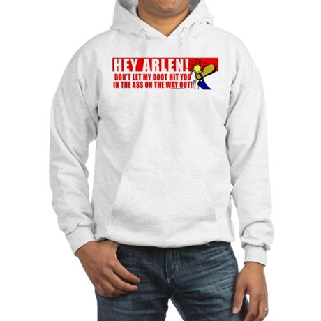 Boot In Specter's Ass Hooded Sweatshirt