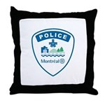 Montreal Police Throw Pillow