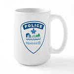 Montreal Police Large Mug