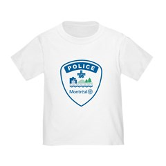 Montreal Police Toddler T-Shirt